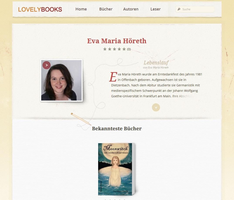 ich bei lovelybooks