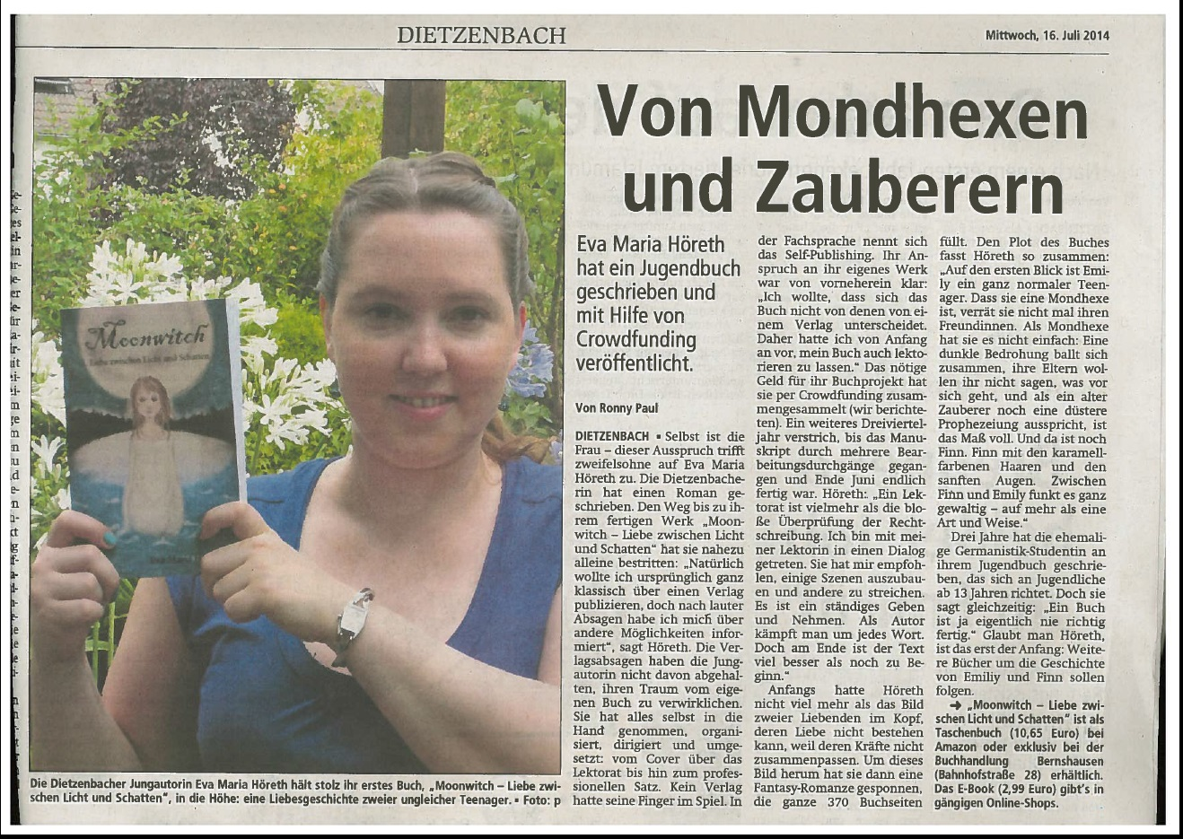 Offenbach Post 16.07.2014