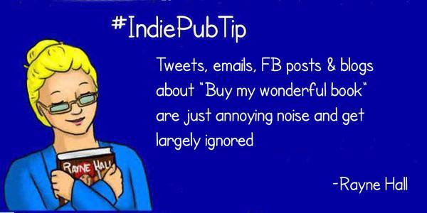 Rayne Hall Autorin Indie Pub Tipp