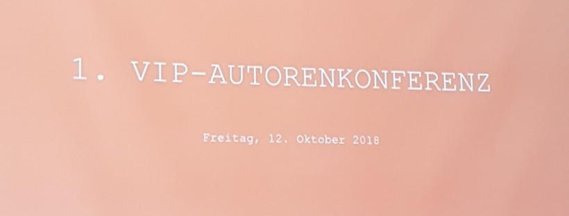 erste VIP Autorenkonferenz
