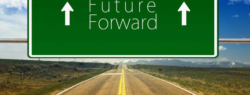 In die Zukunft schauen