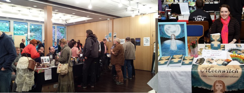 Aussteller auf der Buchmesse Convention in Dreieich