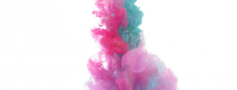 Farbwirbel aks Kreativer Flow